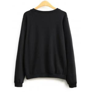Plain Loose Sweatshirt -