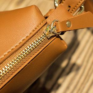 Buckle Straps PU Leather Shoulder Bag -