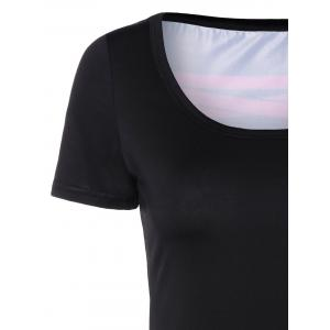 Printed Fitting T-Shirt -