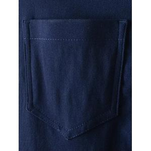 Zip Fly Pockets Jeans -
