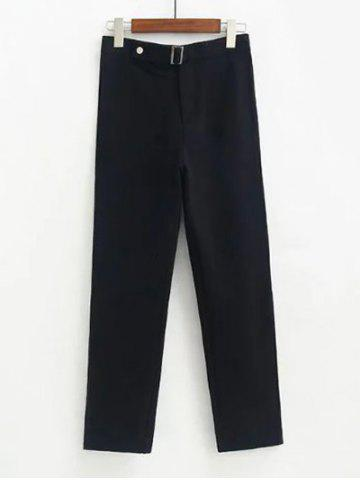 Buy Fitted Woolen Ninth Pants