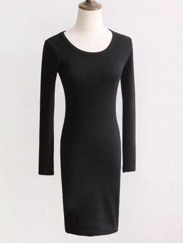 Shop Long Sleeve Fit Dress