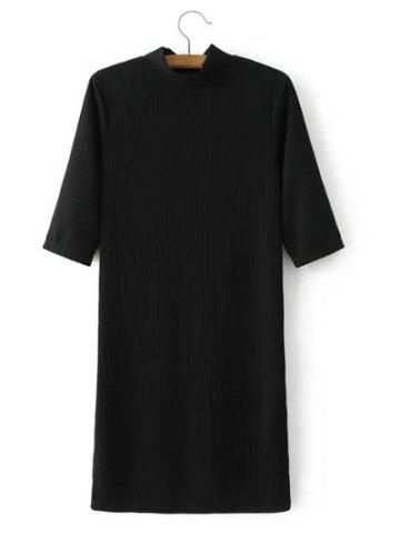 Online Half Sleeve Knitted Dress