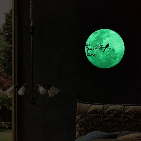 Buy Creative Moon Design Home Decoration Noctilucence Wall Sticker