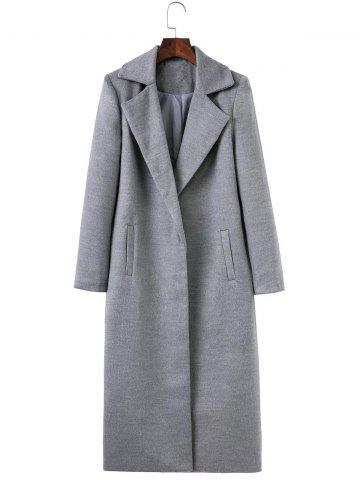 Outfits Fitted Twin Pockets Wool Coat