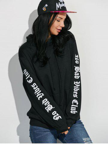 Affordable Graphic Sleeve Oversized Hoodie