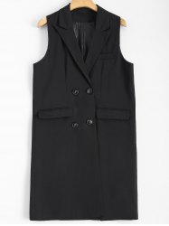 Double-Breasted Long Waistcoat -