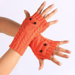 Twist Gants En Tricot Owl Mitaines -