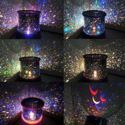 Starry Star Master Gift Led Unique Design Projector Multi Colors Night Light - BLUE