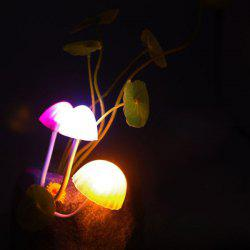 Creative Colorful Mushroom Room Decor LED Night Light - COLORFUL