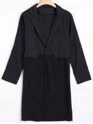 Long Blazer - BLACK
