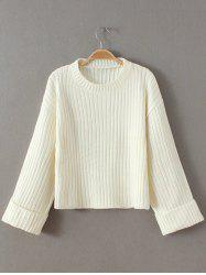 Cropped Woolen Sweater