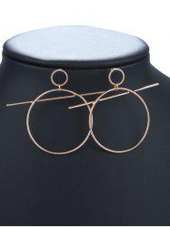 Filigree Circle Hoop Earrings -
