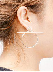 Filigree Circle Hoop Earrings