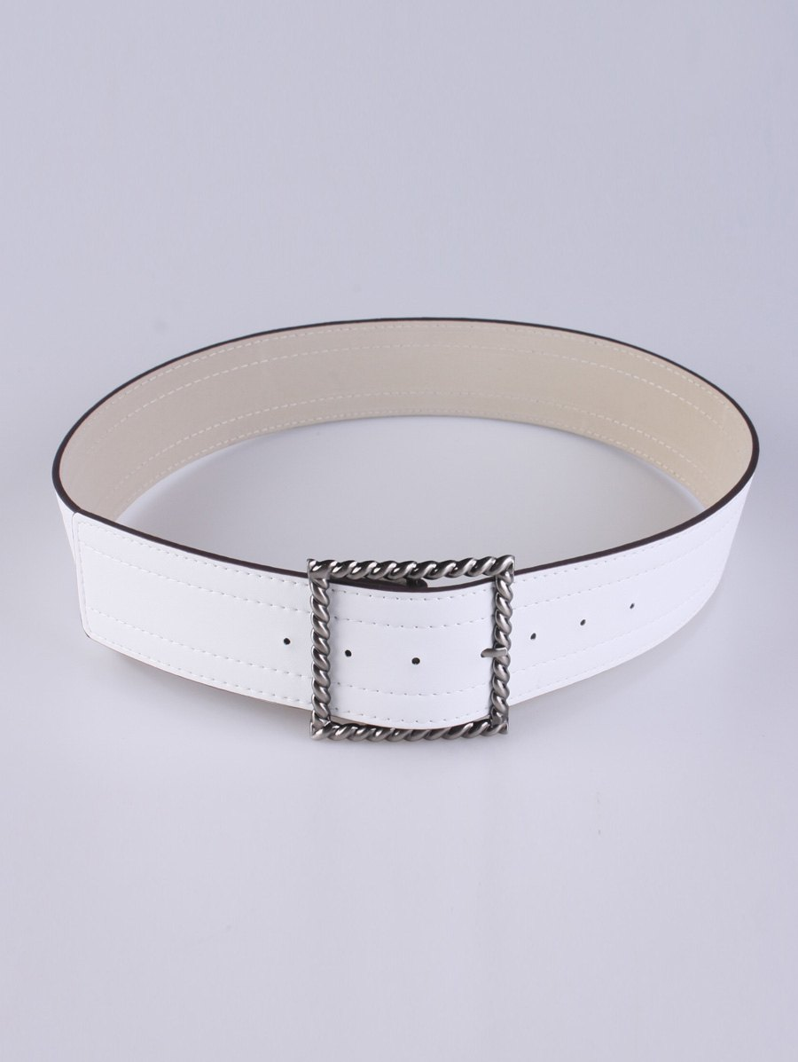 Cheap Coat Wear Hollow Twist Square Pin Buckle Belt