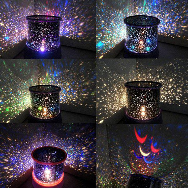 Fashion Starry Star Master Gift Led Unique Design Projector Multi Colors Night Light