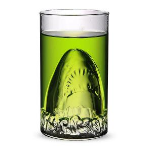 350ML Shark Lucency Glass Water Beer Mug