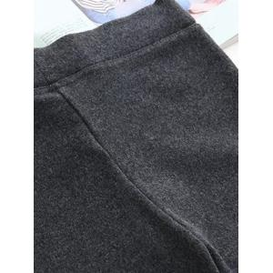 Knitted Applique Thicken Leggings -