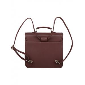 Sakura Buckle Strap Satchel Bag -