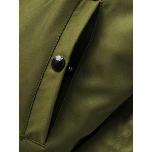 Reversible Stand Collar Bomber Jacket -