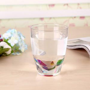 Drinkware Rainbow Refraction Glass Water Beer Mug - COLORFUL