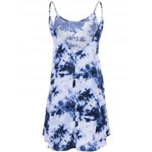 Tie Dye Print Mini Cami Dress -