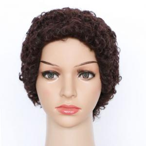 Spiffy Short Curly Synthetic Wig -