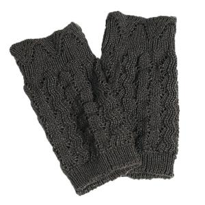 Warm Crochet Sipder Knit Boot Cuffs -