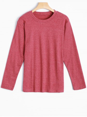 Shop Heathered Slimming T-Shirt