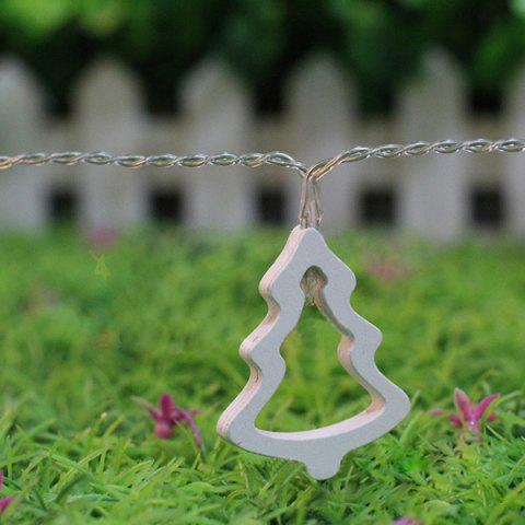 10PCS Festival Party Christmas Tree Hanging LED Light Bunch Decoration - Warm White Light