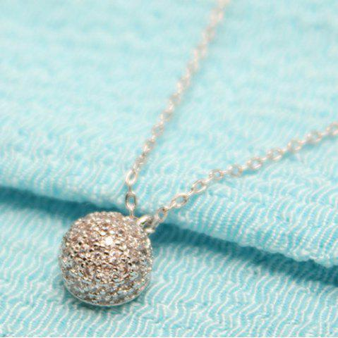 Affordable Round Bead Pendant Necklace