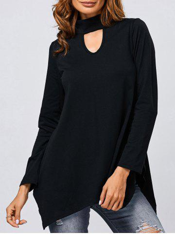 Outfit Hollow Out Asymmetrical Top