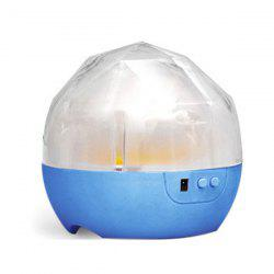 USB 360° Rotating Star Sky Projection Night Light - BLUE