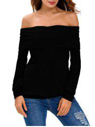 Off-The-Shoulder T-Shirt -