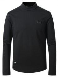 Turtle Neck Long Sleeve Thicken T-Shirt