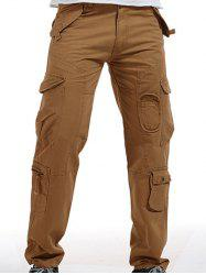 Zip Fly Pockets Military Army Cargo Pants