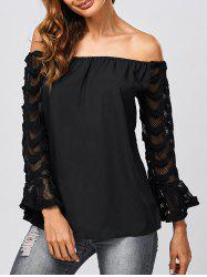 Voile See Through Blouse -