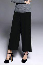 Twin Pocket Ninth Wide Leg Pants