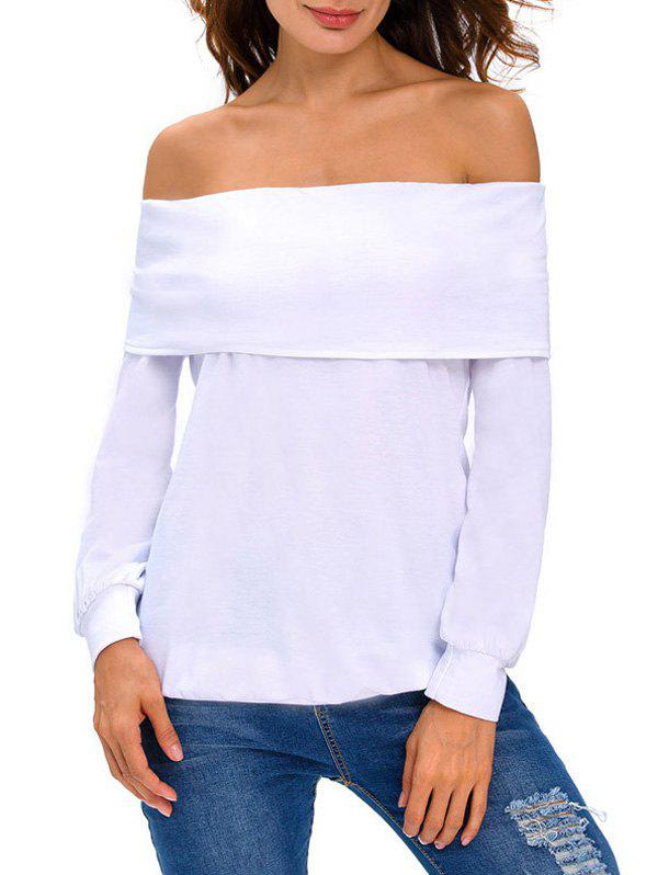 Chic Off-The-Shoulder T-Shirt