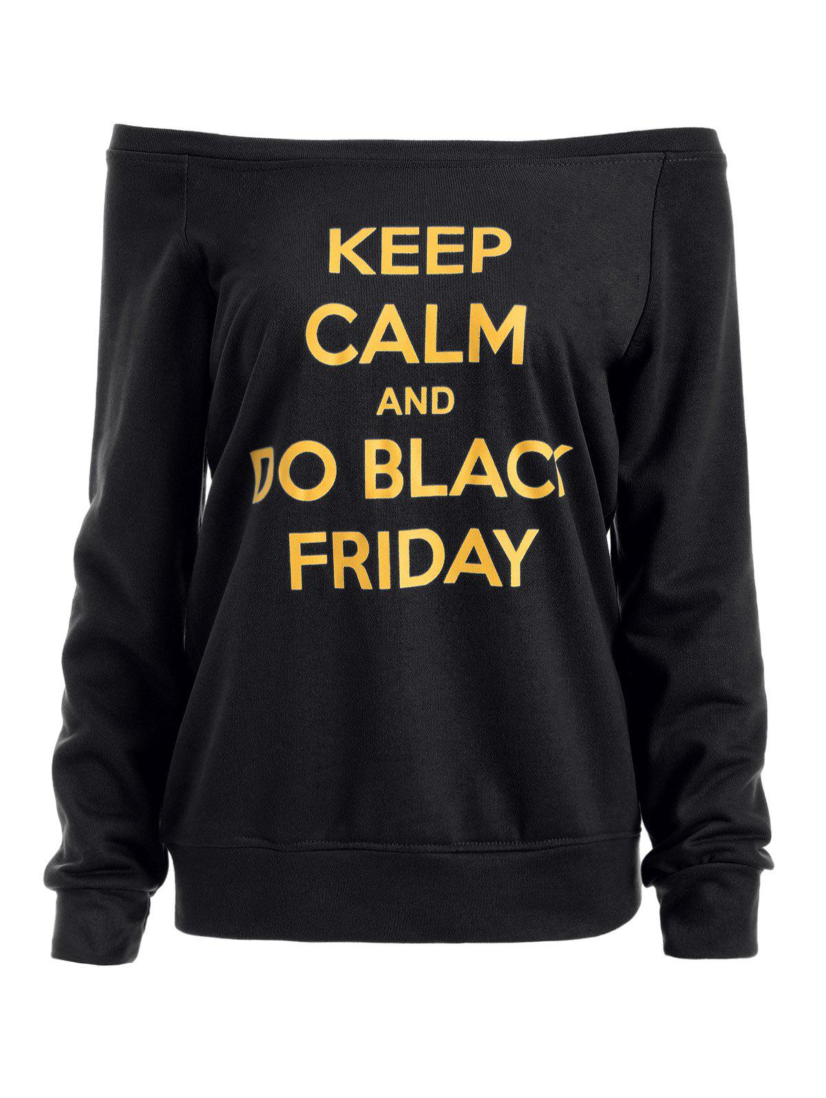 Outfits Black Friday Graphic Jumper Sweatshirt