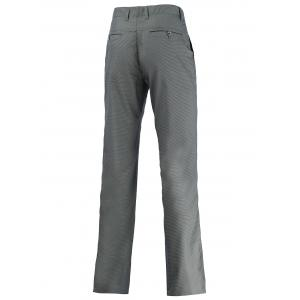 Button Pocket Zipper Fly Chino Pants - GRAY 40