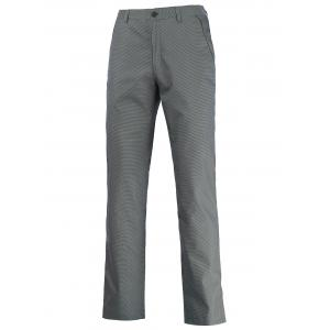 Button Pocket Zipper Fly Chino Pants