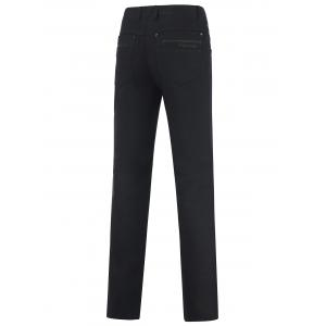 Casual Zipper Fly Straight Leg Tailored Pants -