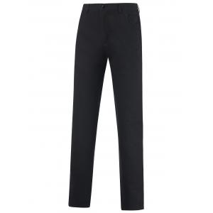 Casual Zipper Fly Straight Leg Tailored Pants