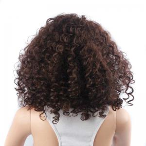 Vogue Medium Fluffy Kinky Curly Synthetic Capless Wig -