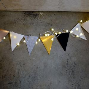 Pennant Flag Banner Prop Party Home Decoration -