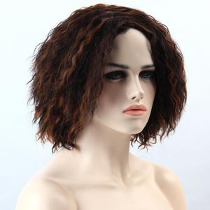 Adiors Highlight Short Synthetic Fluffy Curly Wig -