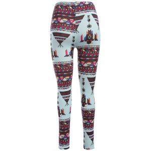 Abtsract Print Leggings -