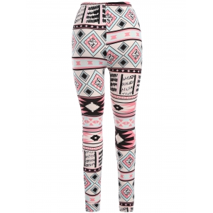 Colorful Geometric Leggings -