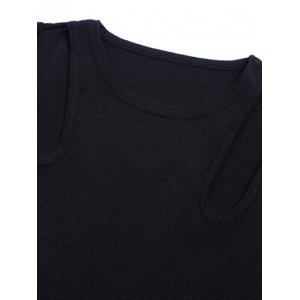 Slimming Cut Out Knitwear -